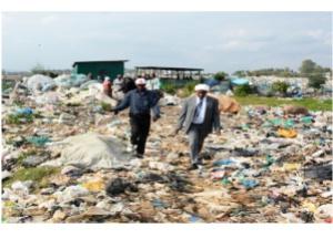 No road in dump site