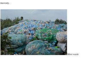 Waste sorted