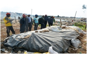 Composting bed