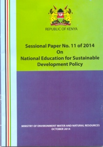 ESD Policy Cover page